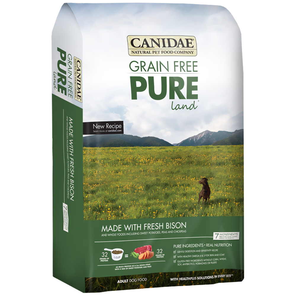 Canidae Grain Free Bison Dog Food Reviews