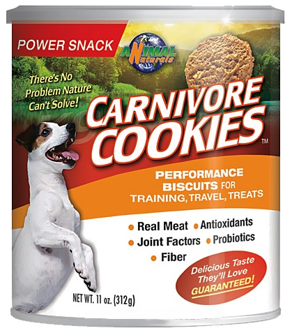 Carnivore Cookies - Sports Biscuits for DOGS (11 oz)