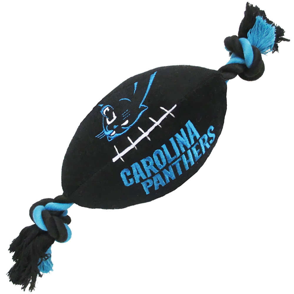 Carolina Panthers Plush Dog Toy