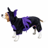 Casual Canine Bat Dog Costume Purple
