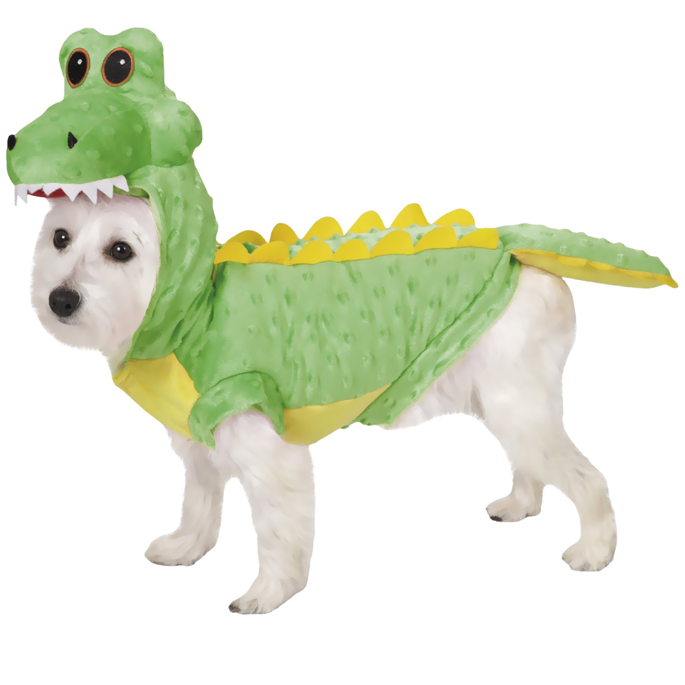 Halloween Costumes For Yorkies Dogs | Casual Canine Crocodile Costume Medium