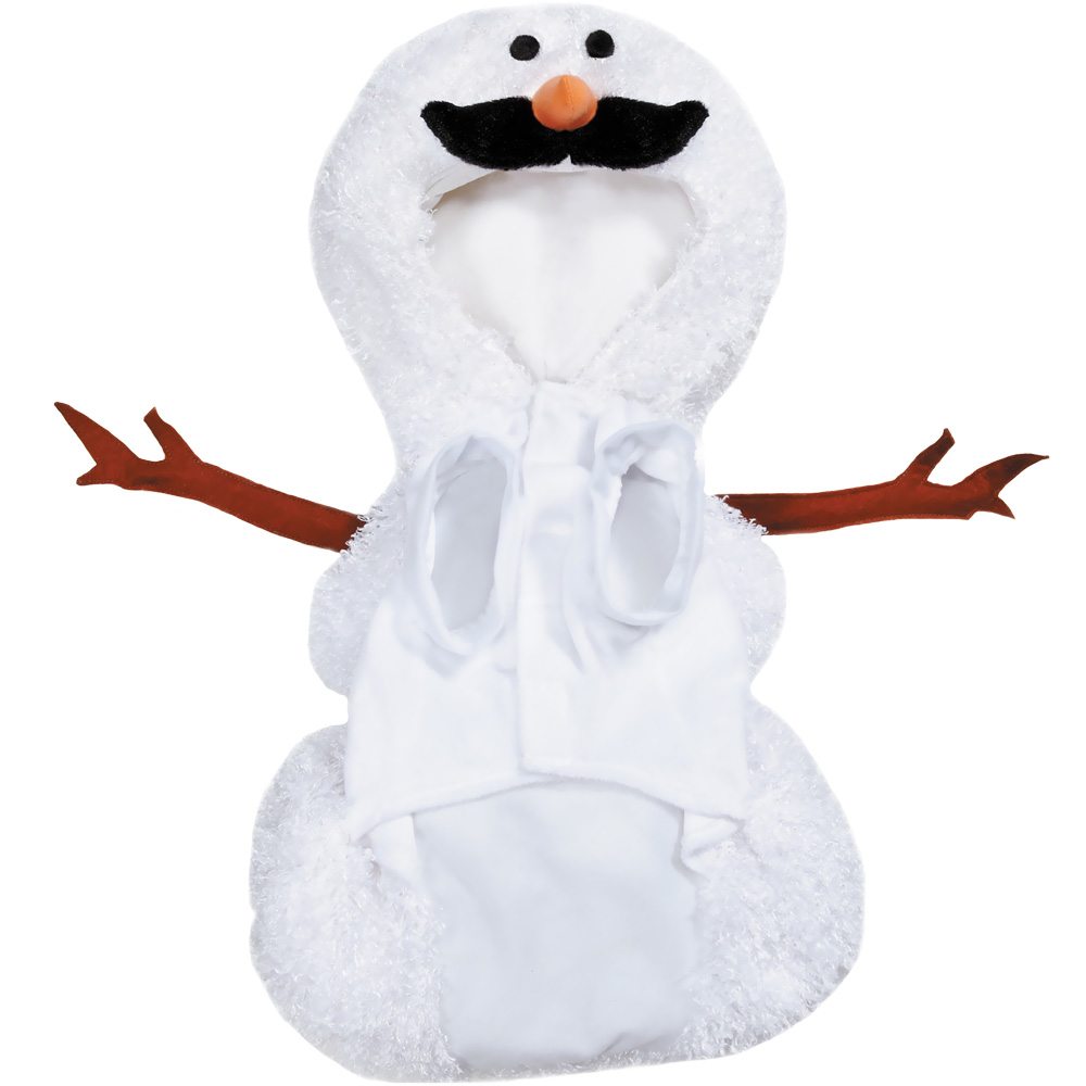 how to make a snowman costume