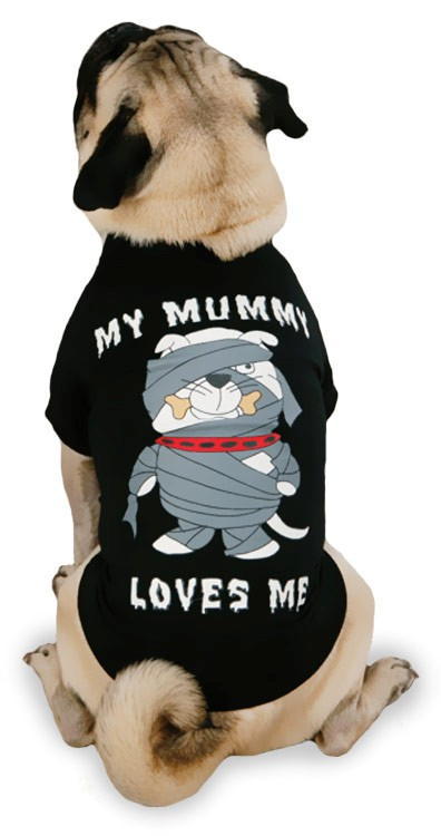 Casual Canine My Mummy Loves Me Tee - MEDIUM