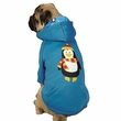 Casual Canine North Pole Pals Hoodie Penguin - SMALL