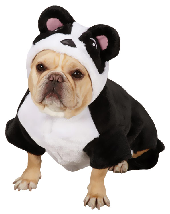 Casual Canine Panda Pup Costume