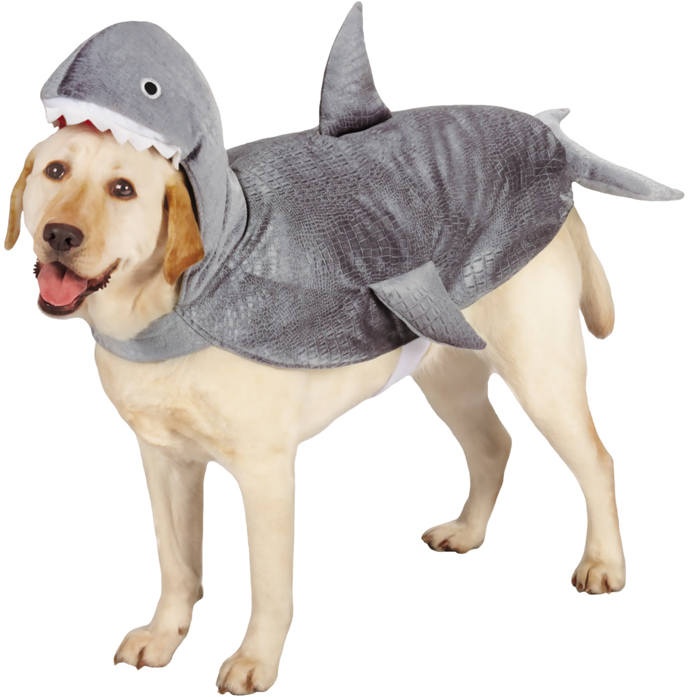 Casual Canine Shark Costume - XLarge