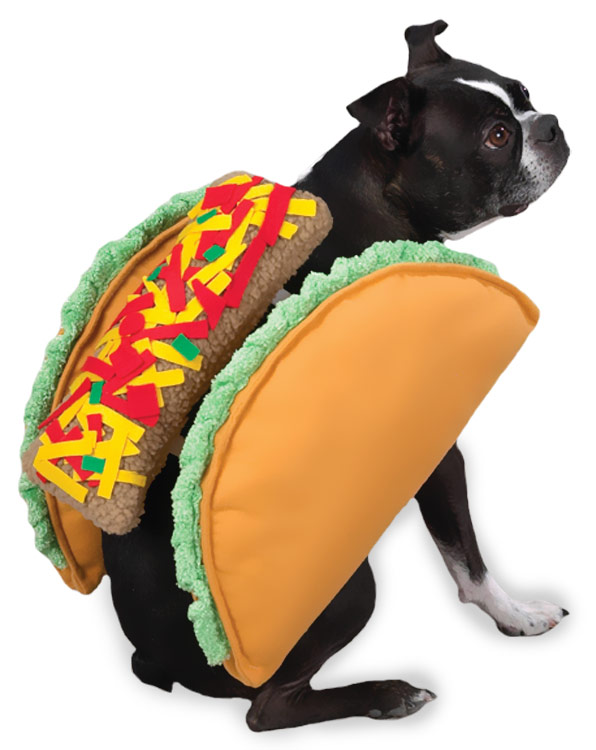 Casual Canine Taco Costume - Multiple Sizes