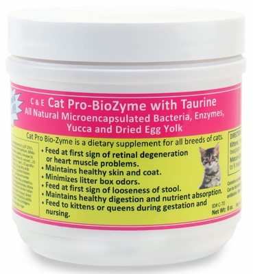 Cat Pro-BioZyme with Taurine (8 oz)