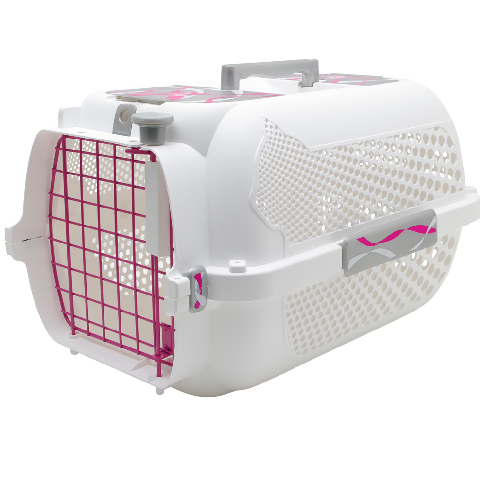 cat carrier catit style profile voyageur small pink carrier. Black Bedroom Furniture Sets. Home Design Ideas