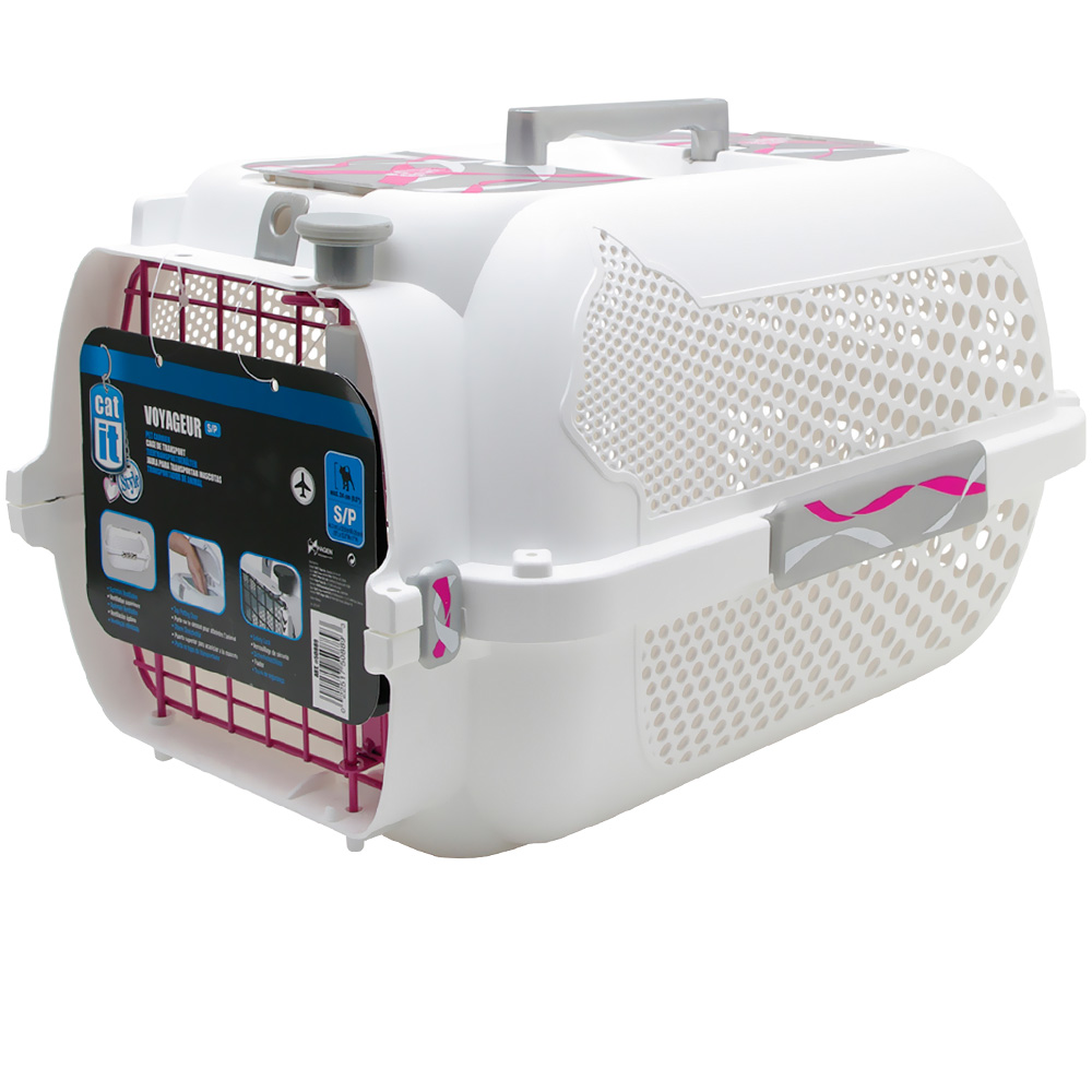 Catit Style Pink Voyageur Small - White