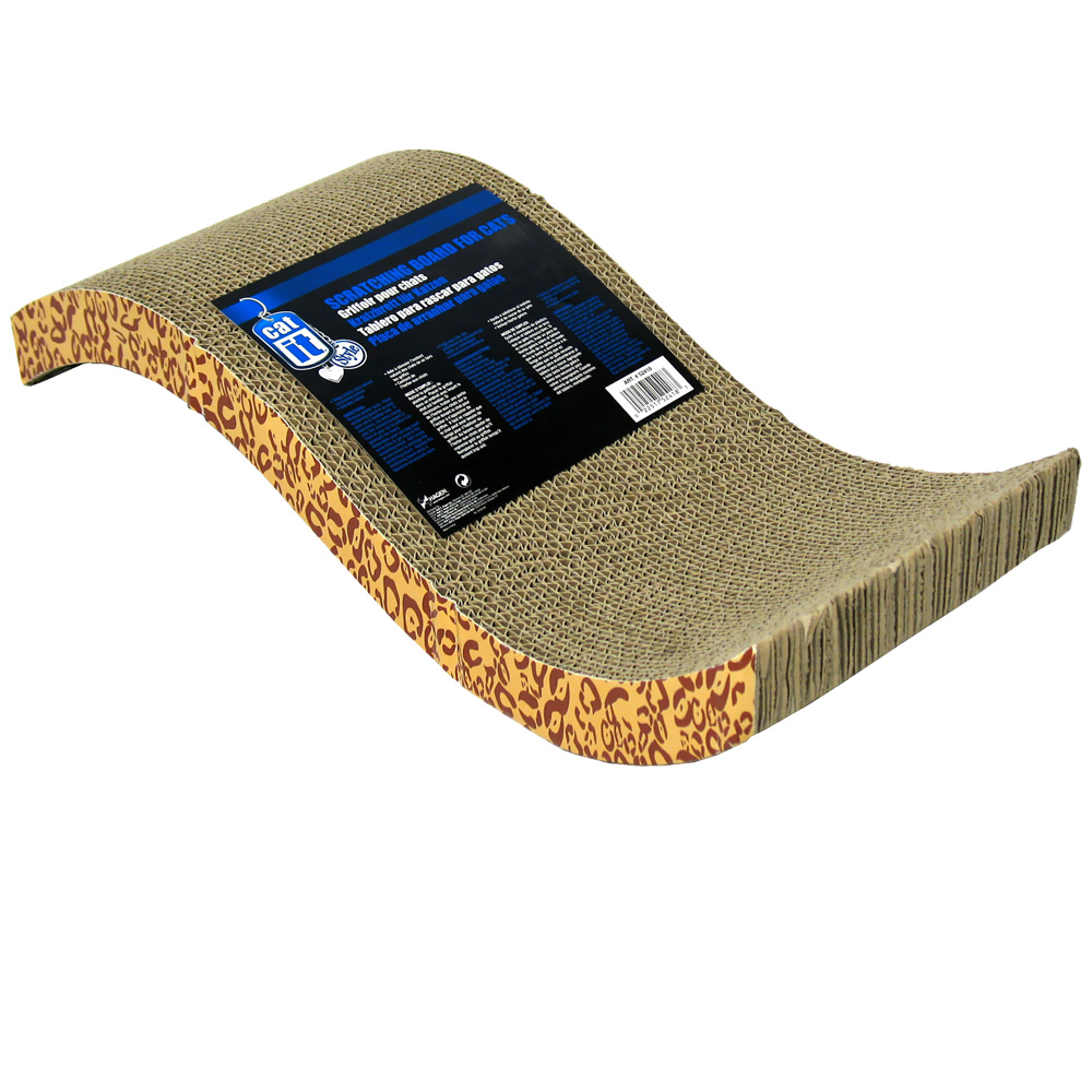 Catit Style Scratch with Catnip - S-Chaise