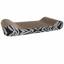 Catit Style Scratching Board with Catnip for Cats - Tiger