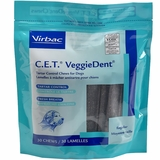 CET VeggieDent Chews for Regular Dogs (30 chews)
