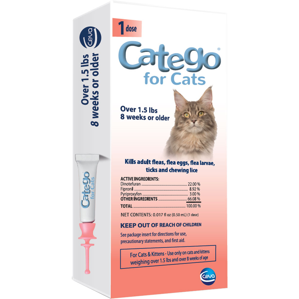 Ceva Catego For Cats (1 Dose)