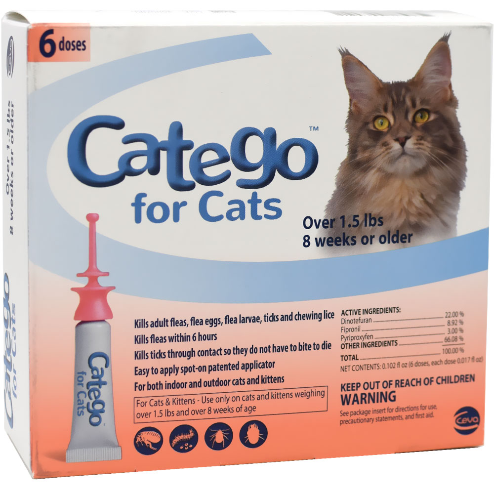 Ceva Catego For Cats (6 Doses)