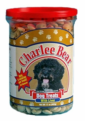 Charlee Bear Dog Treats with Liver - 17 oz