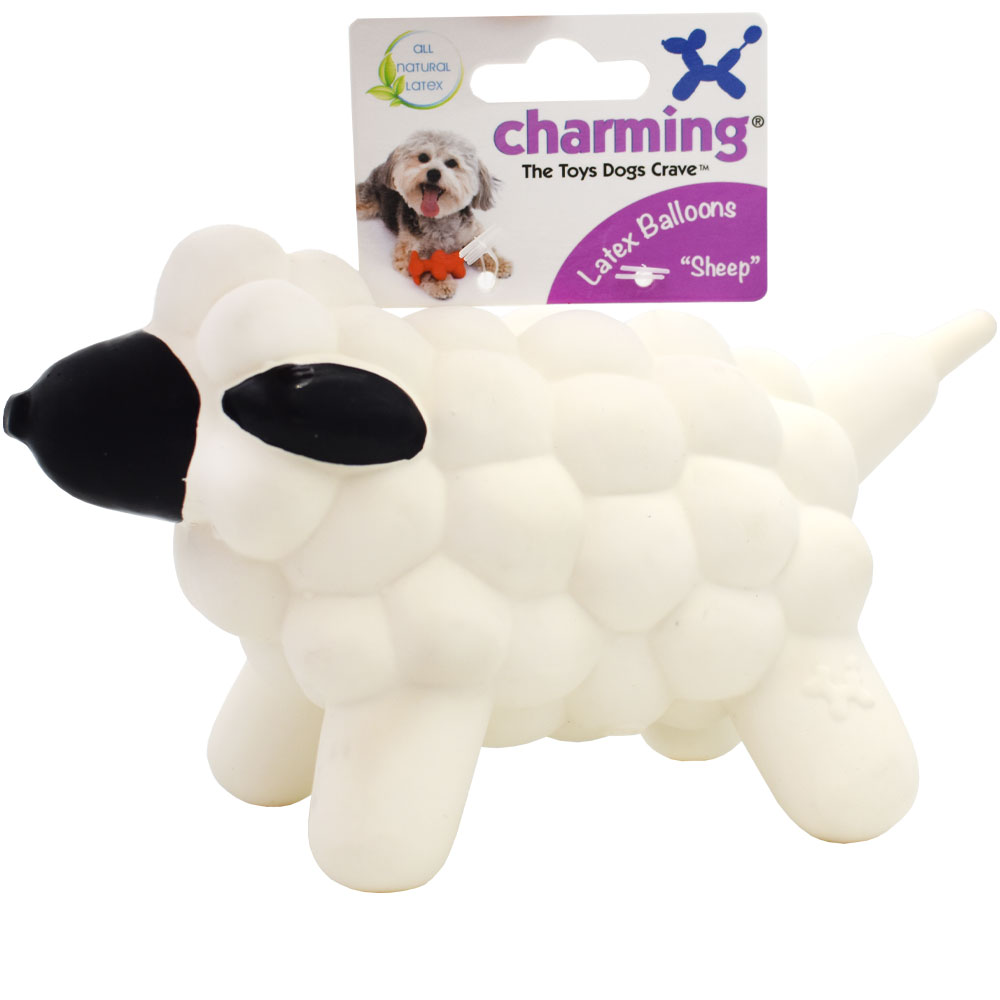Charming Pet Latex Balloon Toy - Sheep (Large)