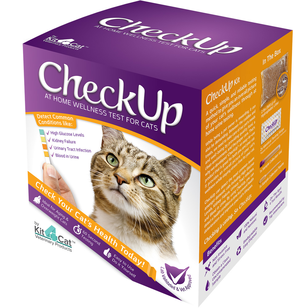 CheckUp Kit - At Home Wellness Test for Cats