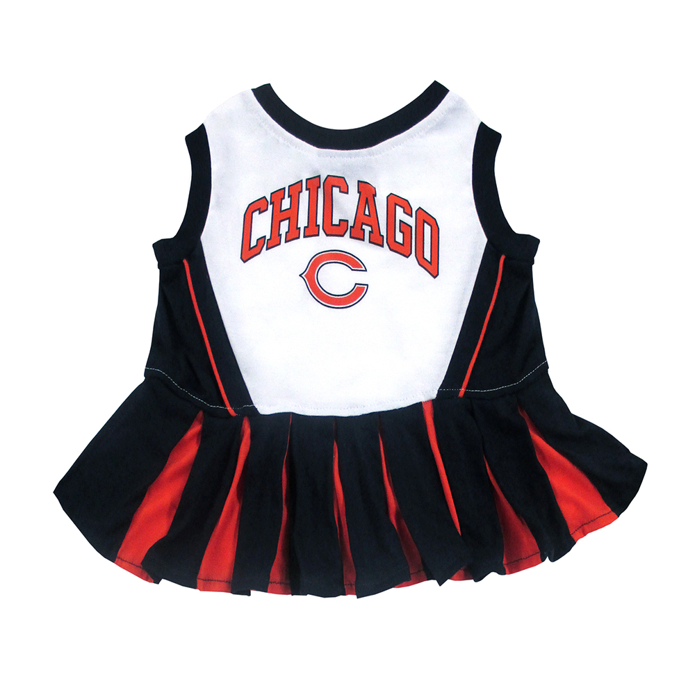 Chicago Bears Cheerleader Dog Dresses