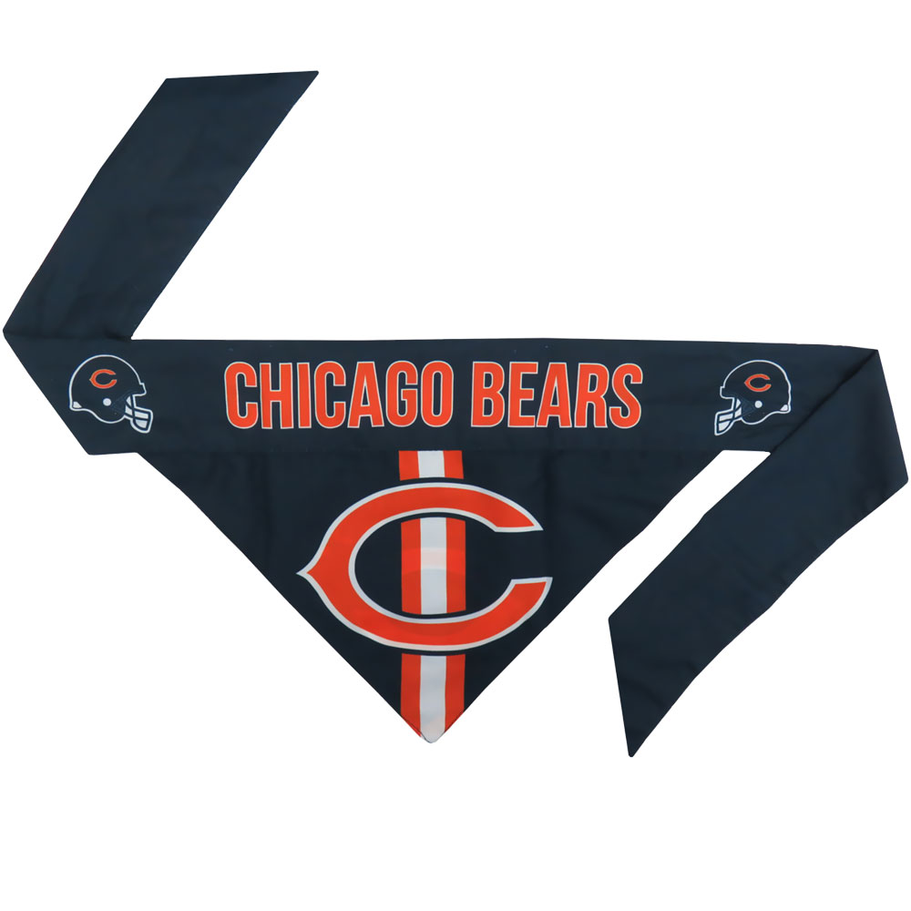 Chicago Bears Dog Bandana - Tie On (Large)