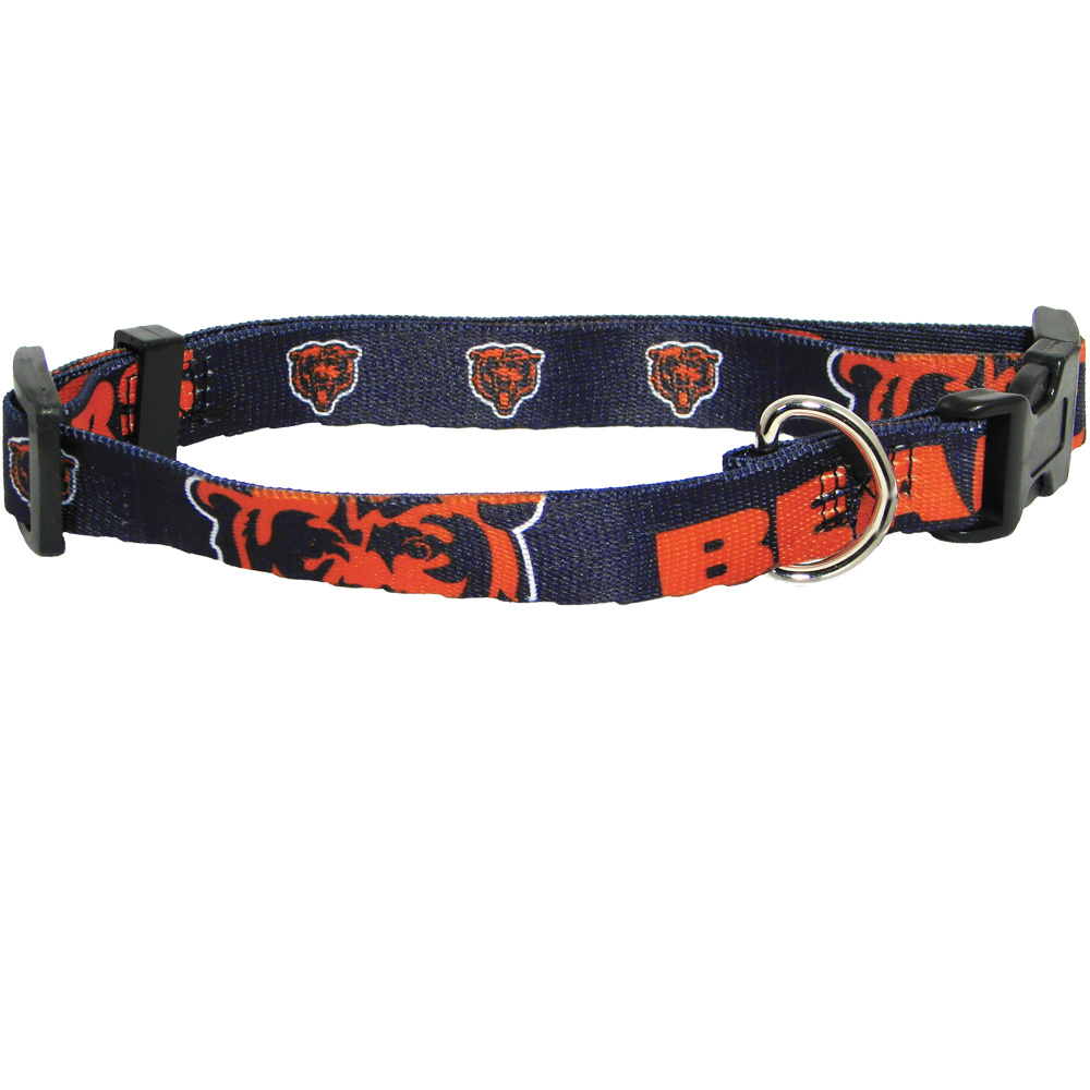 Chicago Bears Dog Collars & Leashes