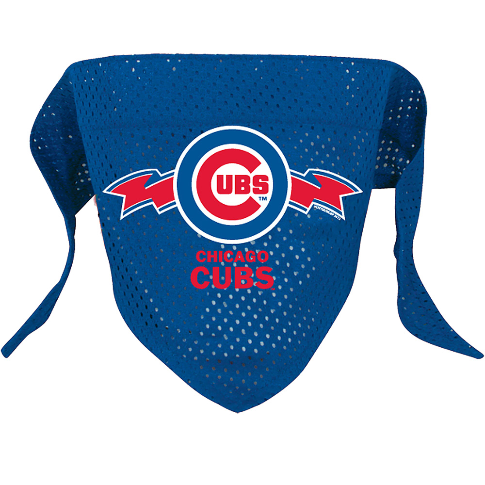 Chicago Cubs Dog Bandanas