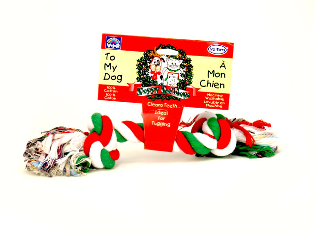Christmas Cotton Rope 13 inch