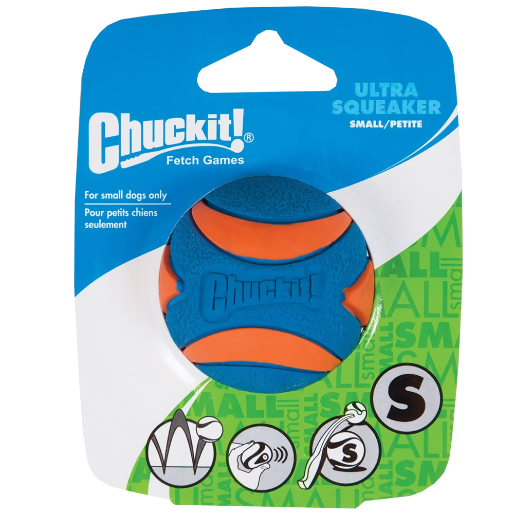 Chuckit! Ultra Squeaker Ball - Small (1 Pack)