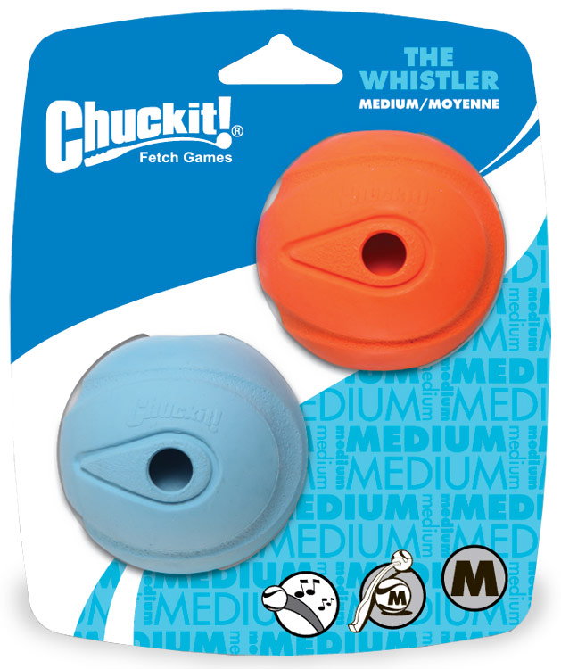 Chuckit! Whistler Ball Medium (2 Pack)