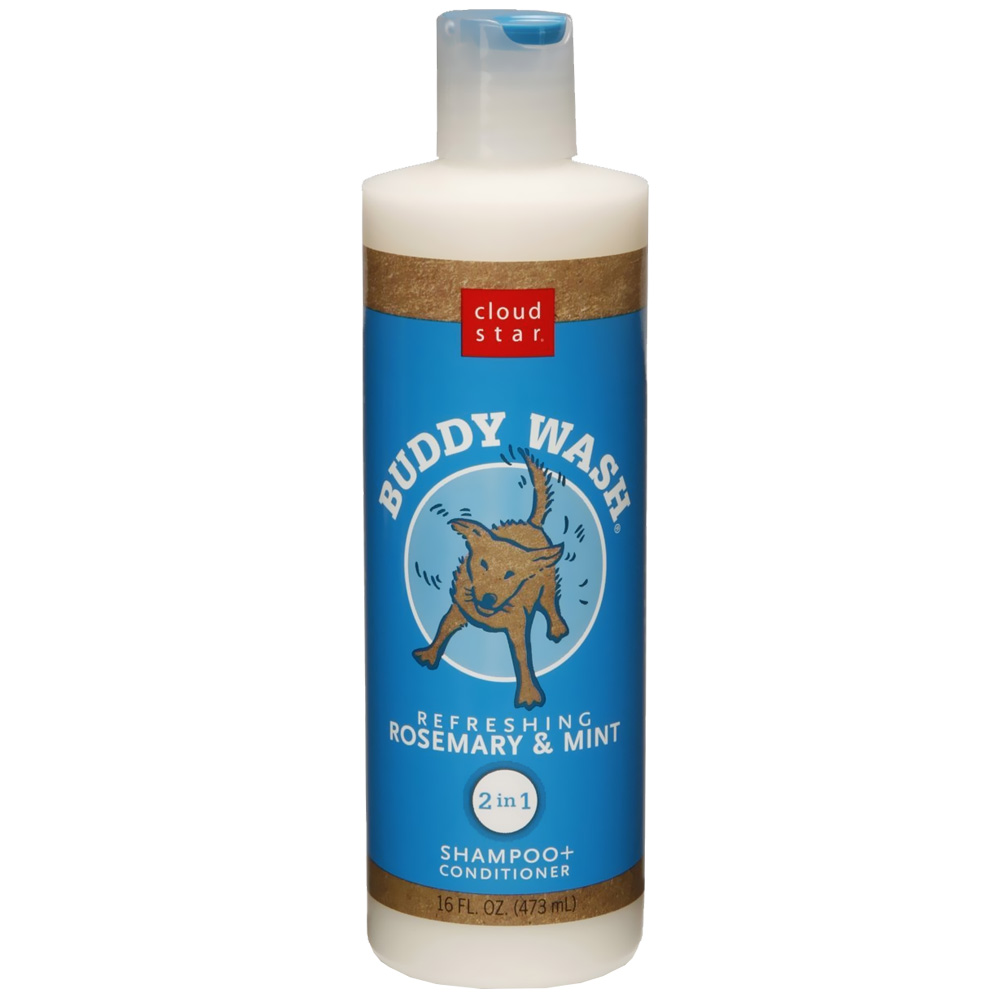 Cloud Star Buddy Wash Dog Shampoo & Conditioner - Rosemary Mint (16 oz)