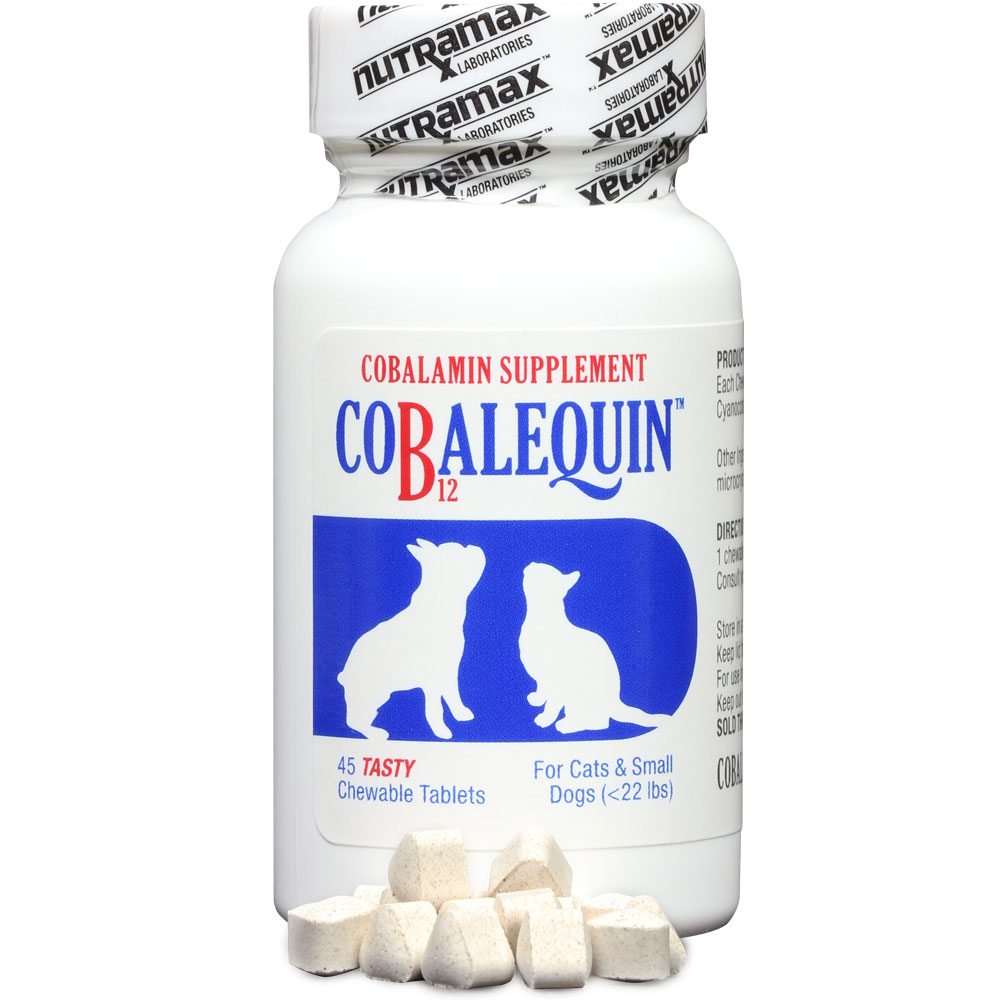 COBALEQUIN Chewable Tablets for Cats & Small Dogs (45 count)