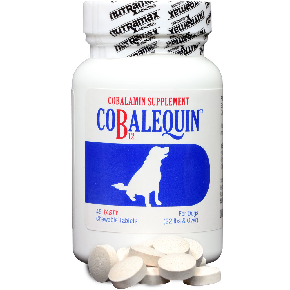 COBALEQUIN Chewable Tablets for Medium & Large Dogs (45 count)