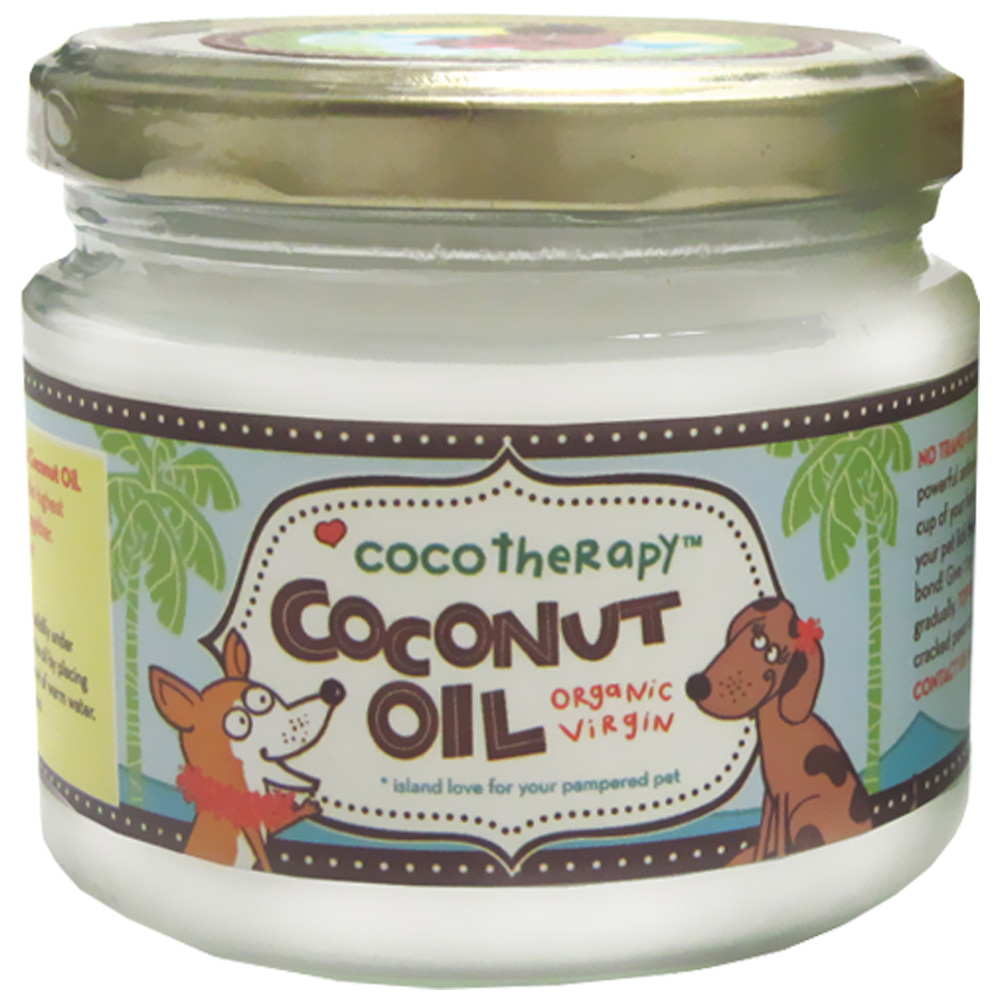CocoTherapy Organic Virgin Coconut Oil (8 oz)