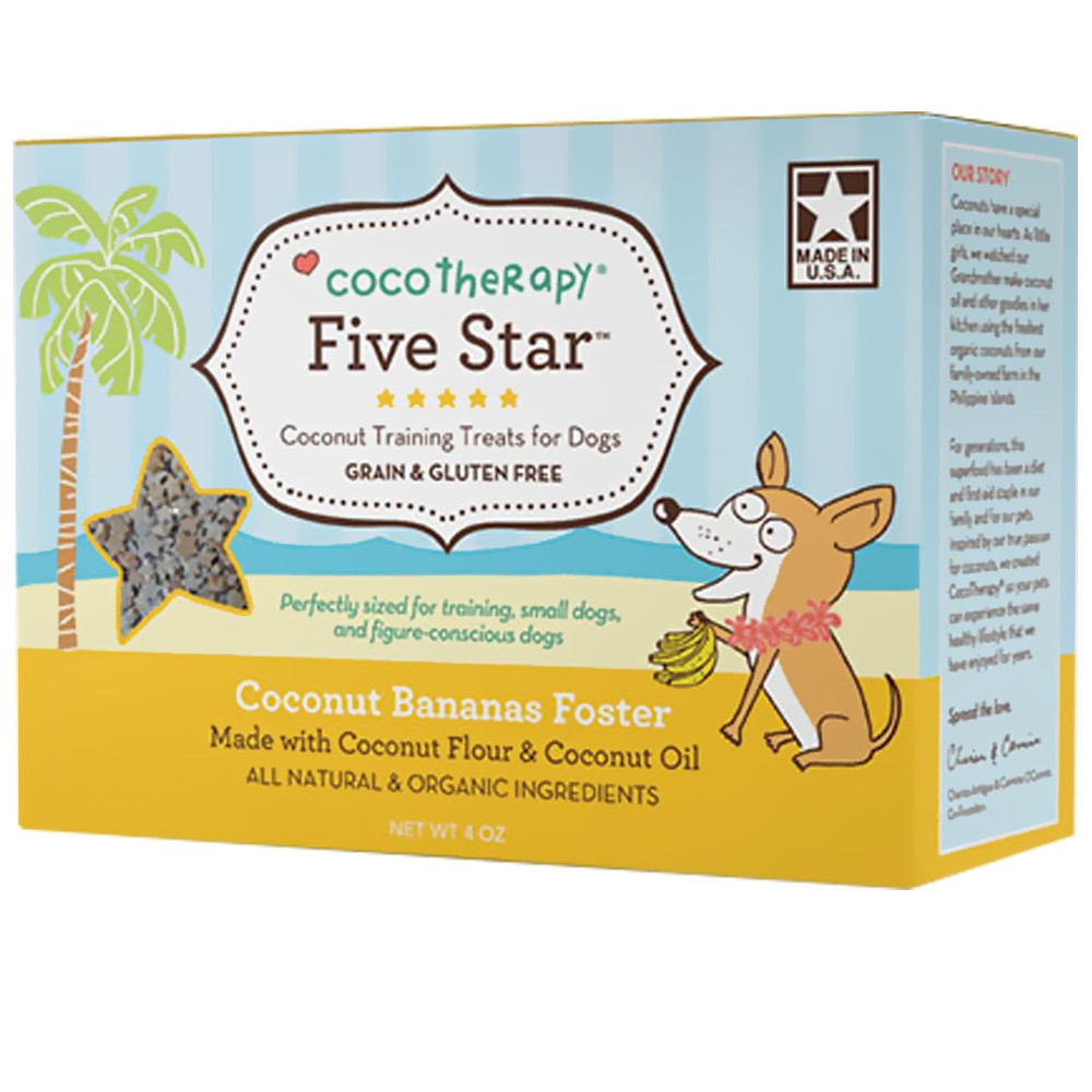 CocoTherapy® Five Star Organic Training Treats
