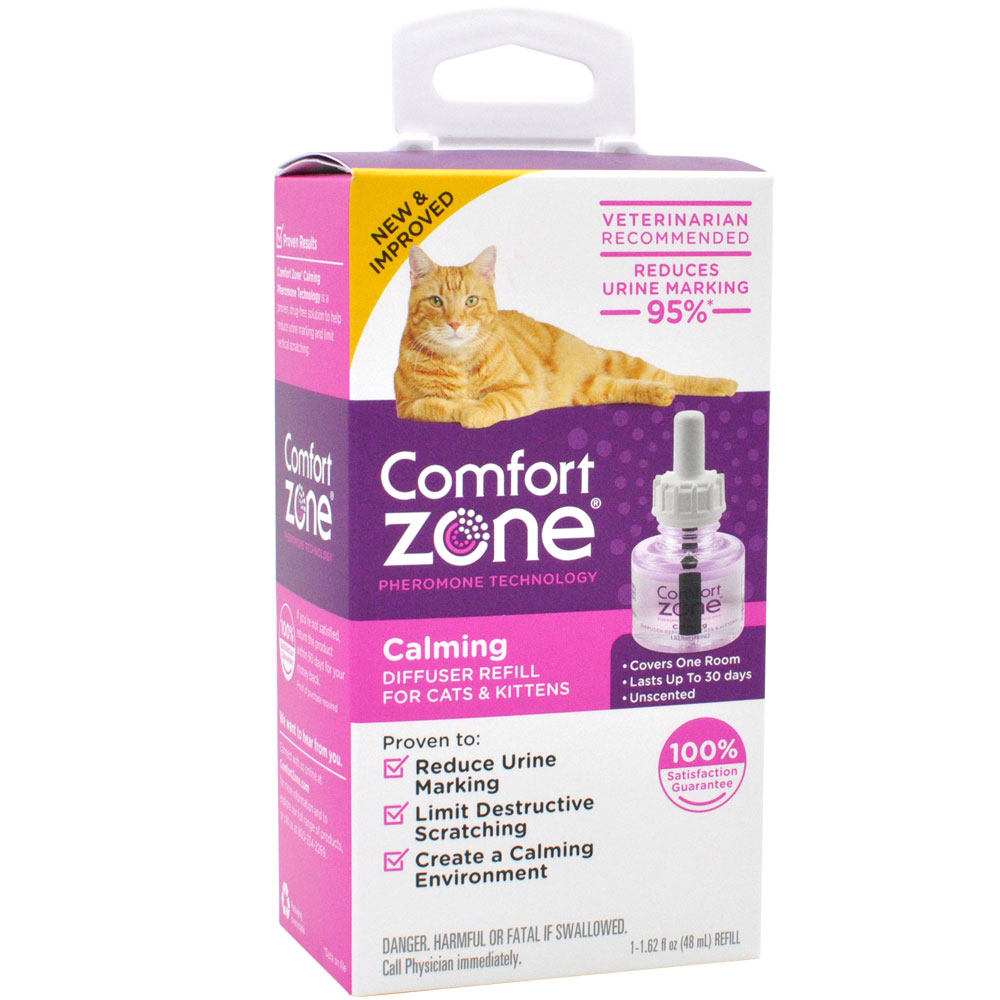 Comfort Zone Calming Diffuser Refill for Cats & Kittens (1-Pack)