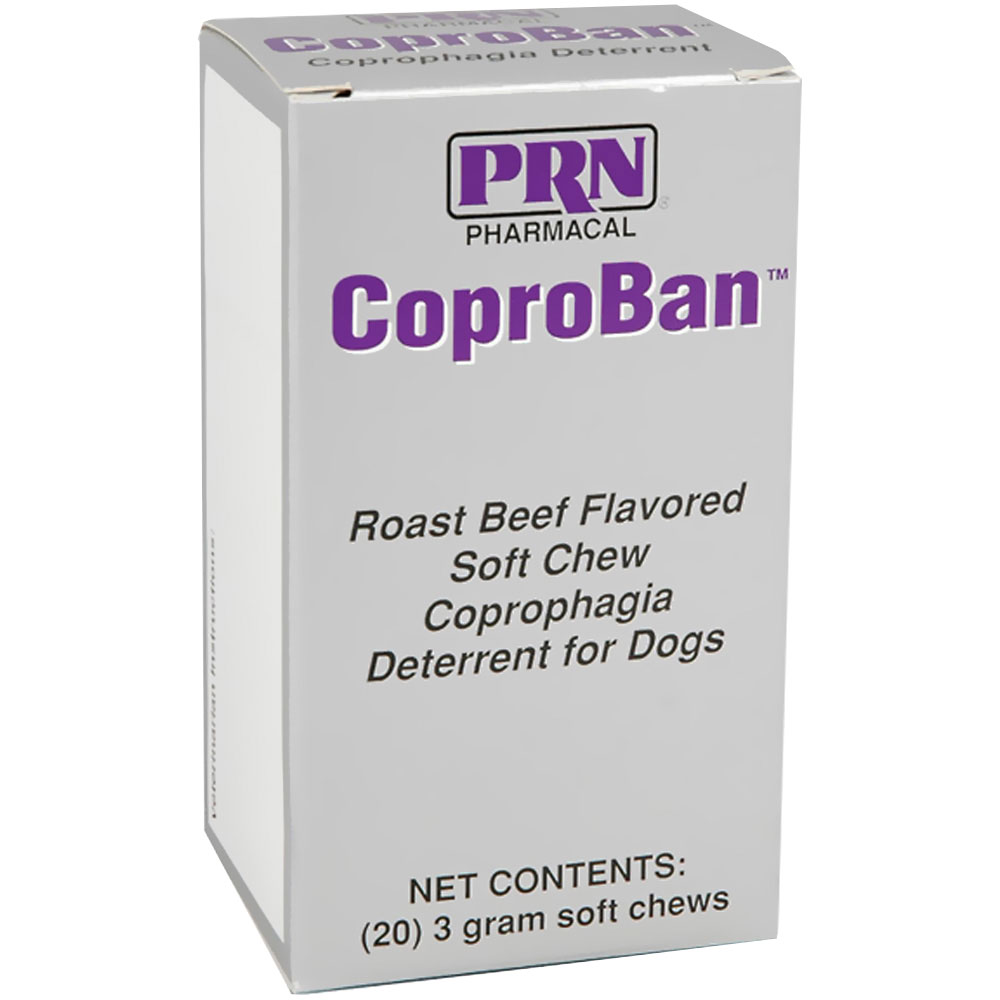 CoproBan Anti-Coprophagia Soft Chews - Roast Beef Flavor (20-pack)