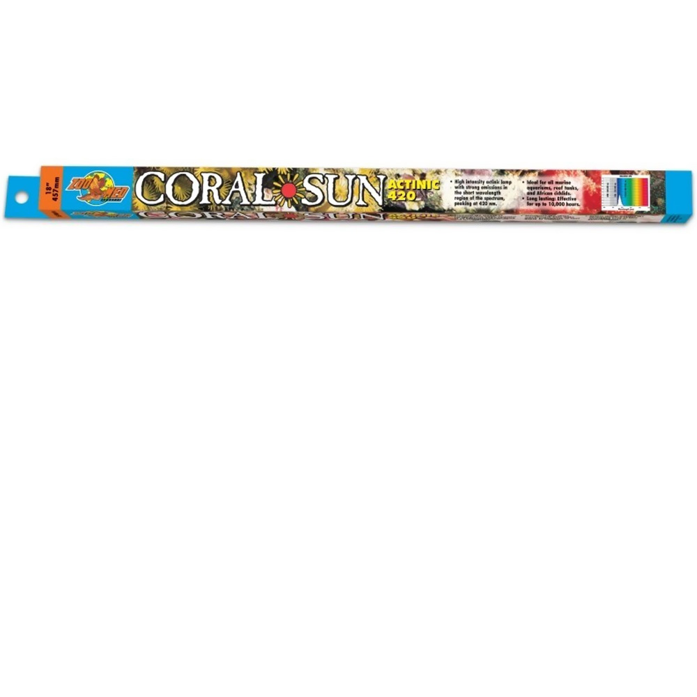 Coral Sun Actinic 420 Coral Bulb 15""