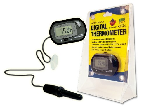 Coralife Digital Thermometer Aquarium