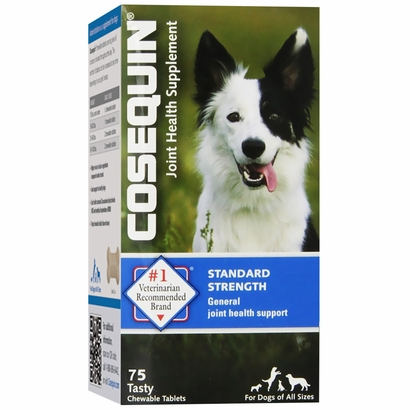 cosequin bonelets hip and joint supplement for dogs 75 chewable tablets. Black Bedroom Furniture Sets. Home Design Ideas