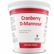 Cranberry D-Mannose Urinary Tract Support (120 Soft Chews)
