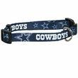 Dallas Cowboys Dog Collar - Large