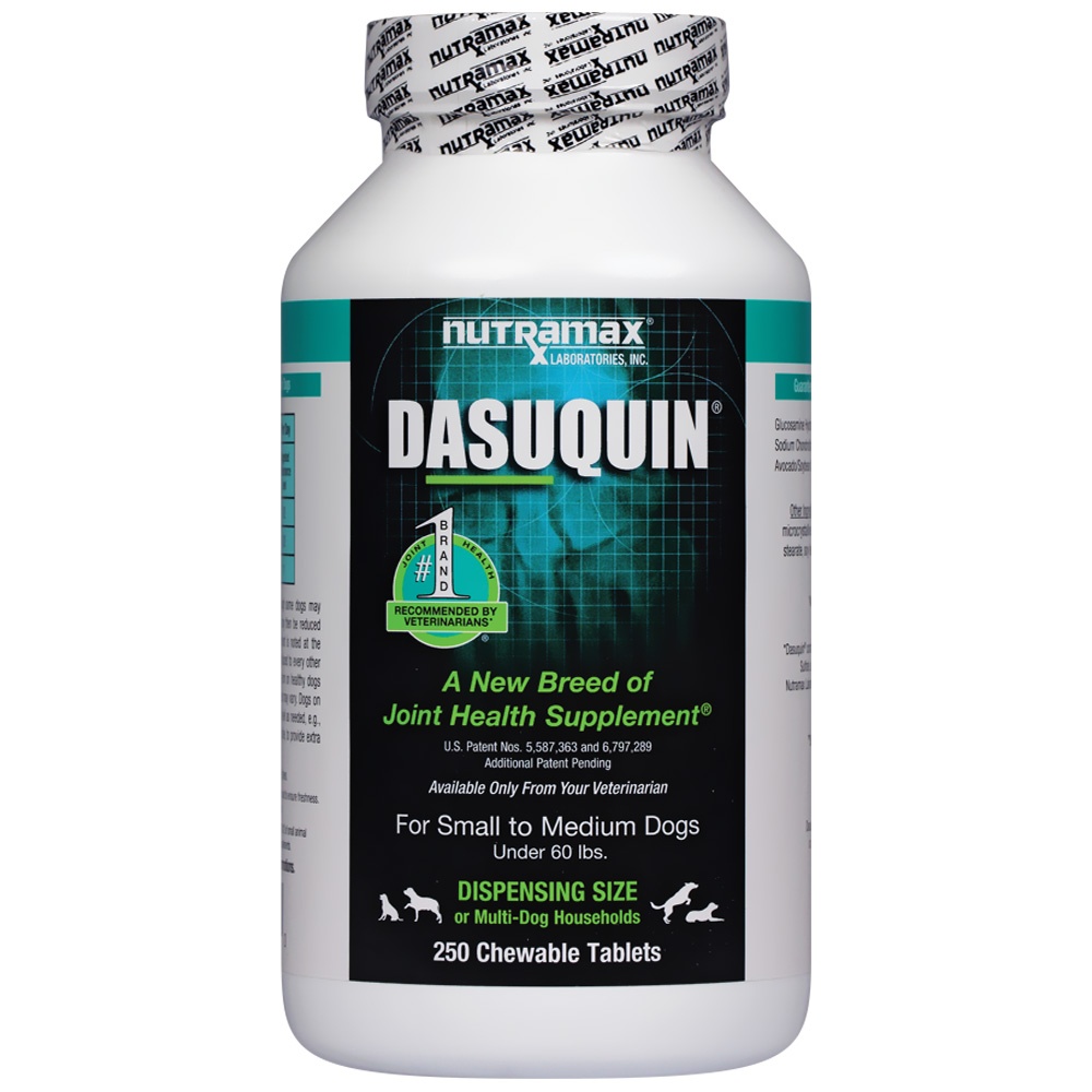 Dasuquin for Small to Medium Dogs (250 Chewable Tabs)
