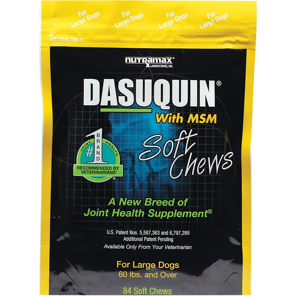 Dasuquin Soft Chews for Large Dogs with MSM (84 Chews)