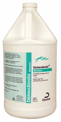DECHRA DermaBenSs Soapless Shampoo with Moisturizers (ONE GALLON)