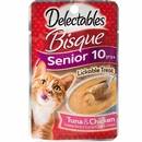 Delectables Bisque Lickable Treat for Senior Cats - Tuna & Chicken (1.4 oz)
