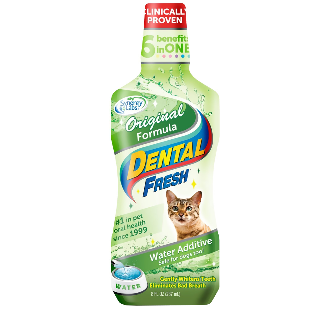 Dental Fresh Original Formula Water Additive for Cats (8 fl oz)