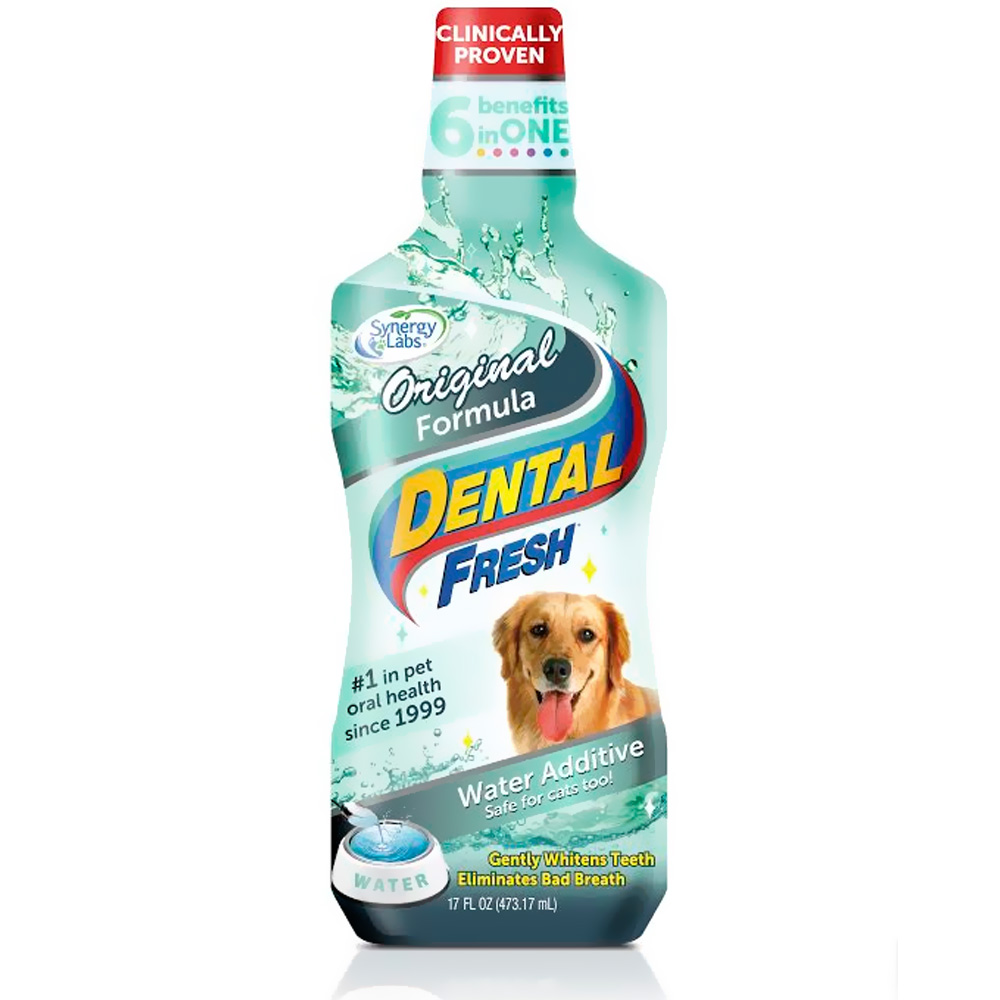 Dental freshr original formula water additive for dogs 17 for Dog dental water additive