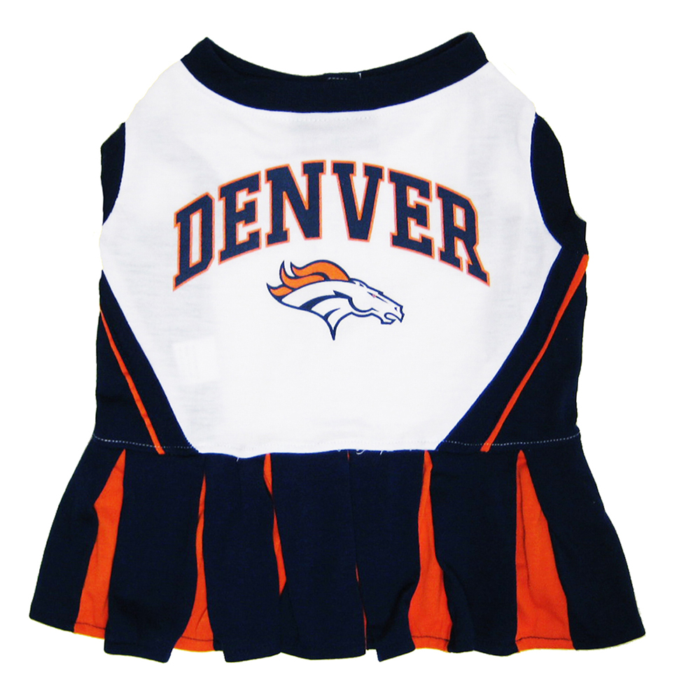 Denver Broncos Cheerleader Dog Dresses
