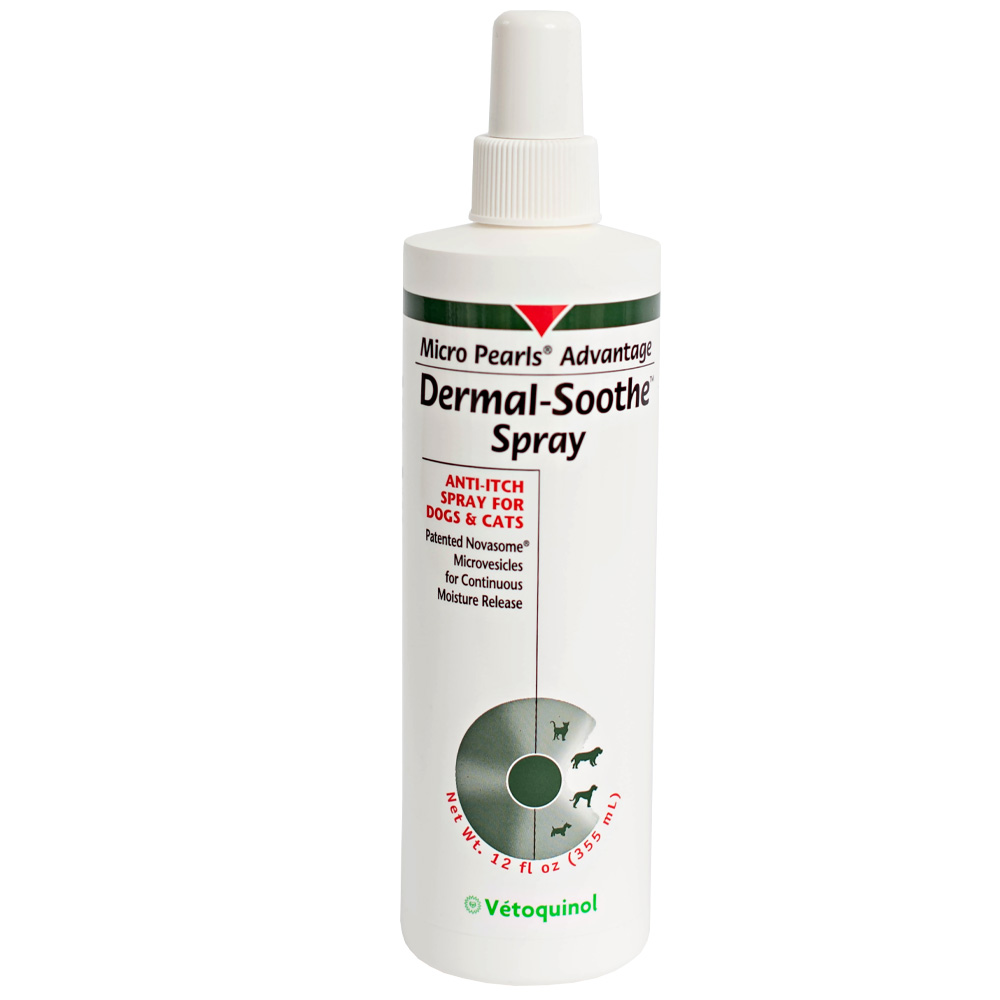 Dermal Soothe Anti-Itch Spray for Dogs & Cats (12 oz)