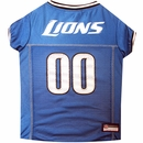 Detroit Lions Dog Jerseys
